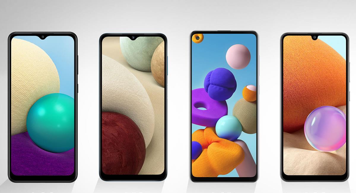Opciones 'poderosas' de smartphones que son económicas de adquirir. Foto: Cortesía Samsung