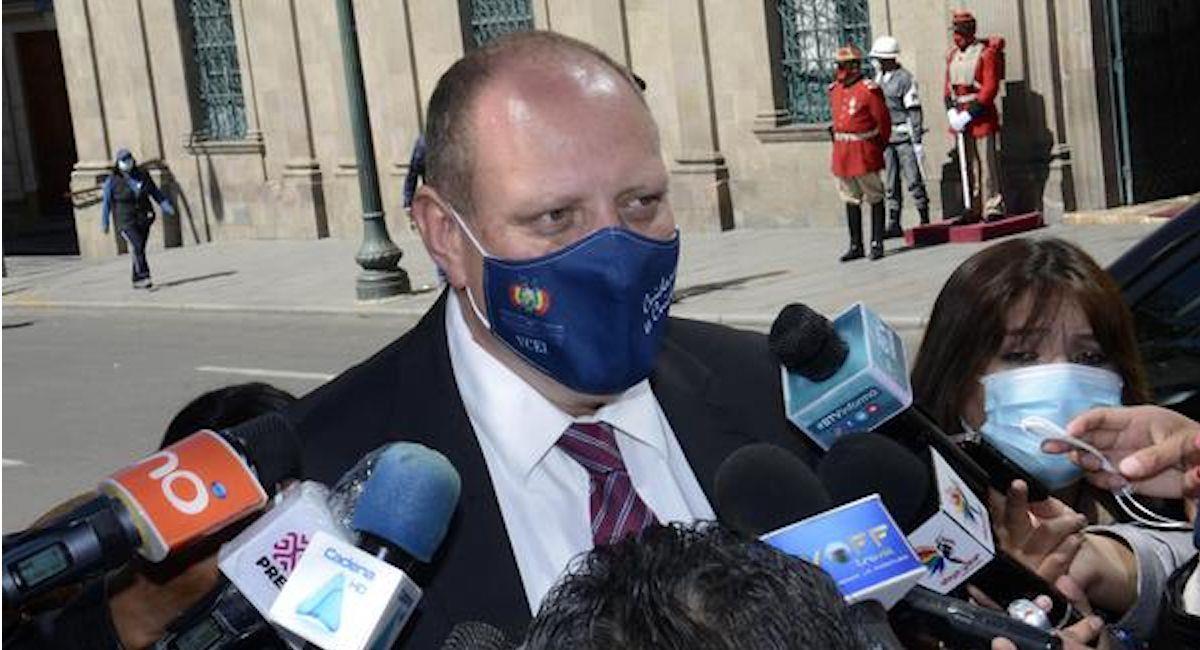 El viceministro de Comercio Exterior e Integración, Benjamín Blanco. Foto: ABI