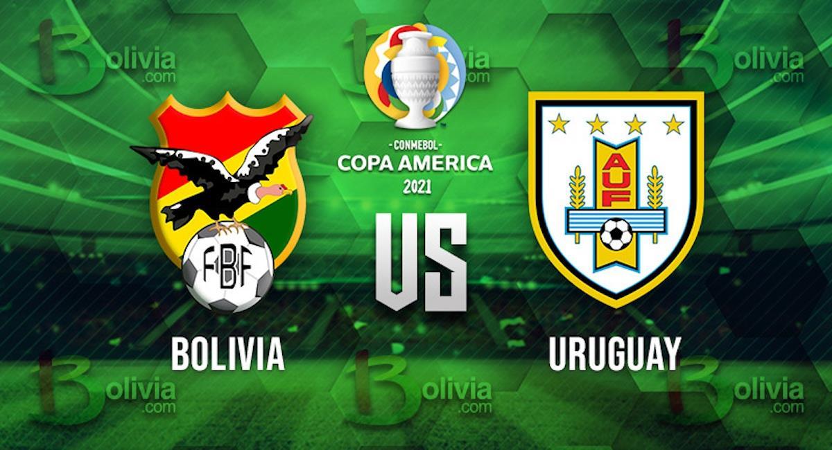 Bolivia vs Uruguay. Foto: Interlatin