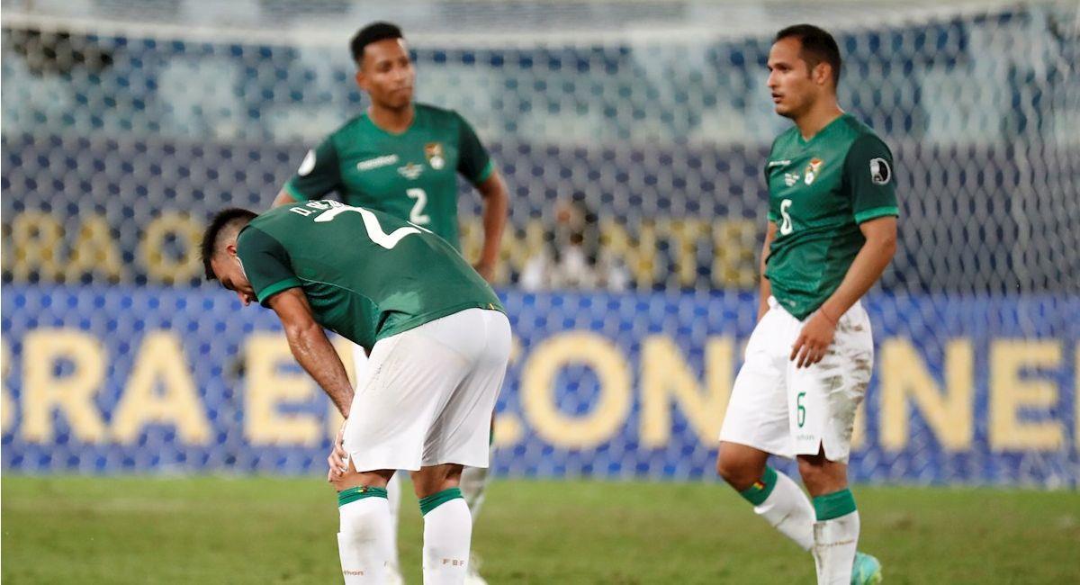 Imágenes del partido Bolivia vs Uruguay. Foto: EFE