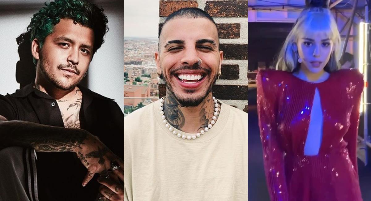 Los premios creados en el 2013 celebrarán a lo más sonado de la cultura pop en Latinoamérica. Foto: Instagram @nodal / @rauwalejandro / @dannapaola
