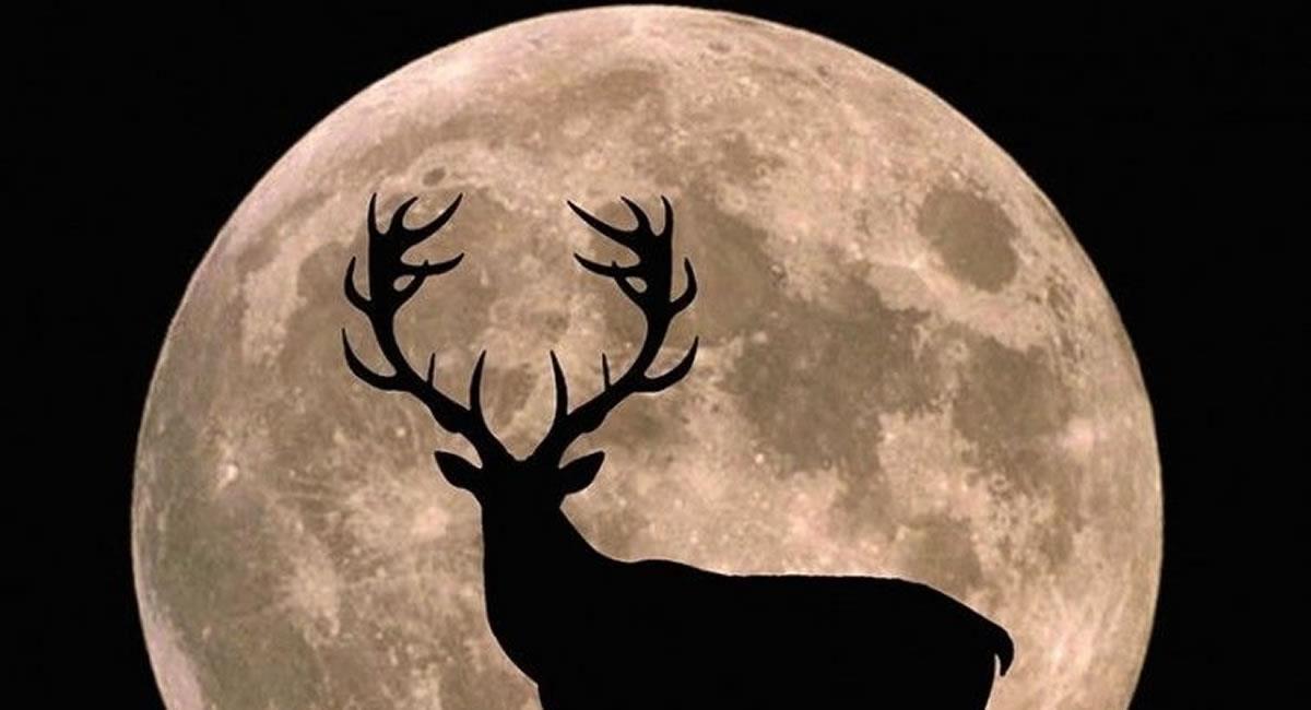 Esta Luna tiene varios nombres, Luna llena de trueno, debido a las tormentas de julio o Luna de heno. Foto: Pinterest
