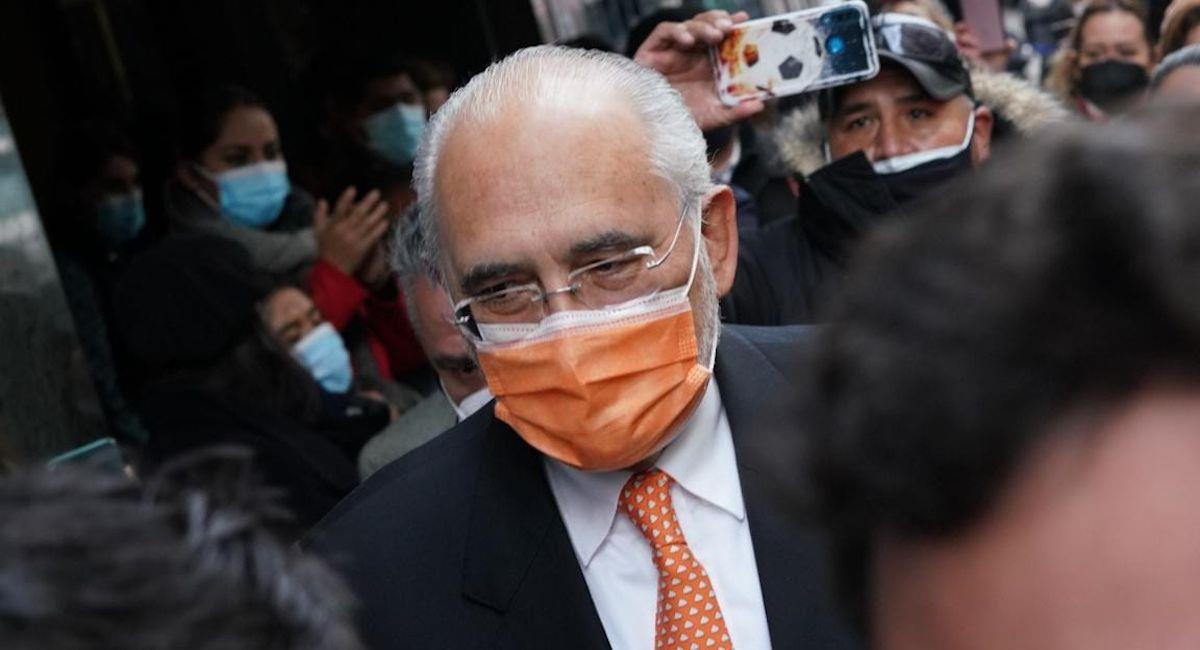 El expresidente de Bolivia y líder opositor Carlos Mesa. Foto: ABI