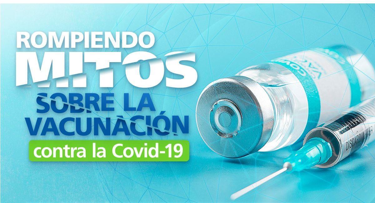 OPS/OMS realizará seminarios web para combatir mitos sobre vacunas anti COVID-19. Foto: ABI