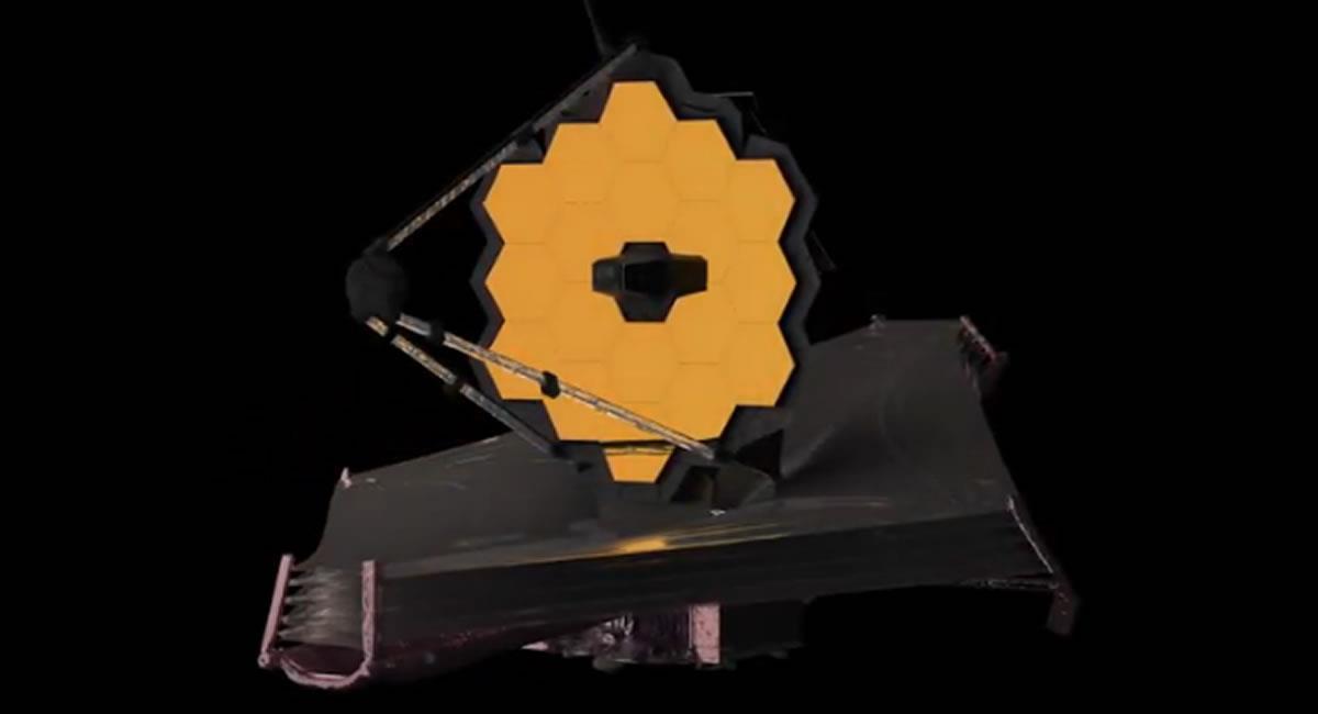 Telescopio espacial James Webb. Foto: Youtube / Captura Canal NASA en Español