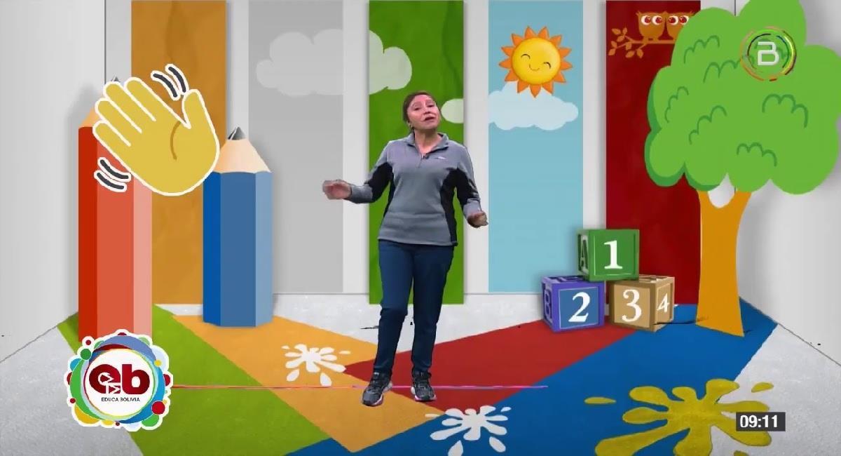Educa Bolivia tendrá desde este lunes programas educativos y textos de aprendizaje en los tres idiomas. Foto: Youtube / Captura canal Bolivia tv Oficial