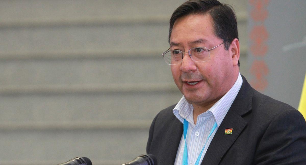 El expresidente de Bolivia Luis Arce. Foto: ABI