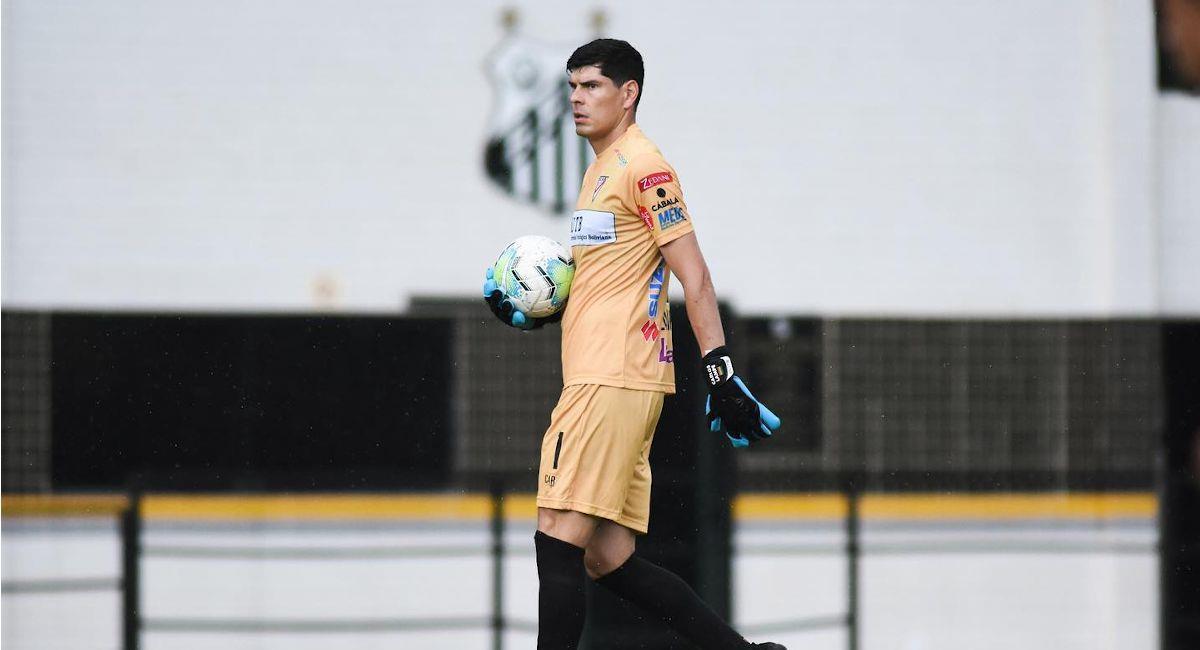 El portero boliviano Carlos Lampe. Foto: Facebook @ClubAlwaysReady.Bo