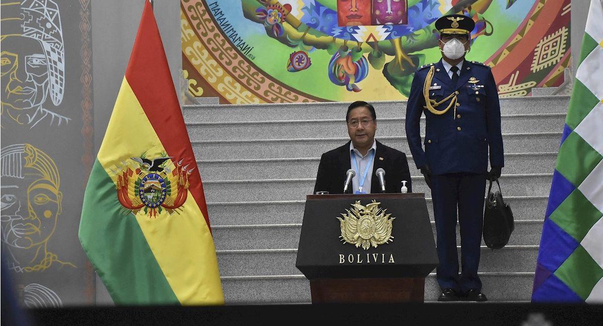 El presidente de Bolivia Luis Arce. Foto: EFE