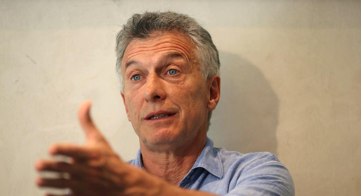 El expresidente de Argentina, Mauricio Macri. Foto: EFE