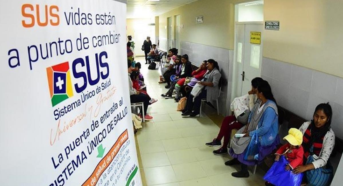 El SUS tiene 5.474.896 personas inscritas en todo el territorio nacional. Foto: ABI