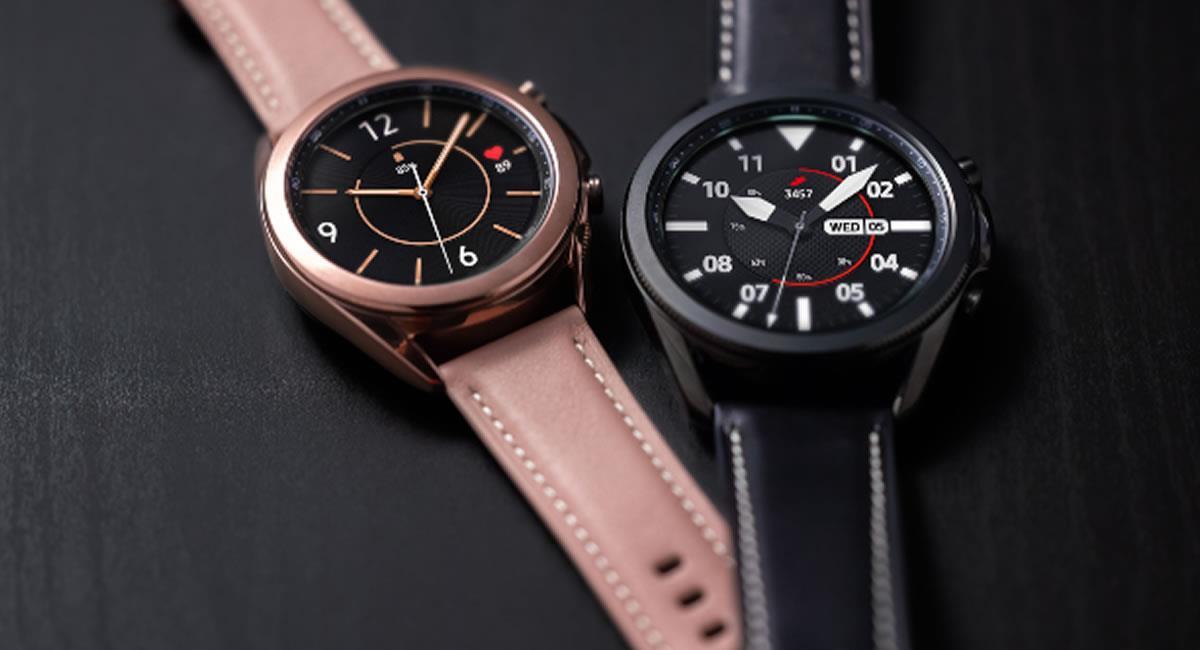 Samsung Galaxy Watch3 permite a las personas tener una vida más optima. Foto: Cortesía Samsung