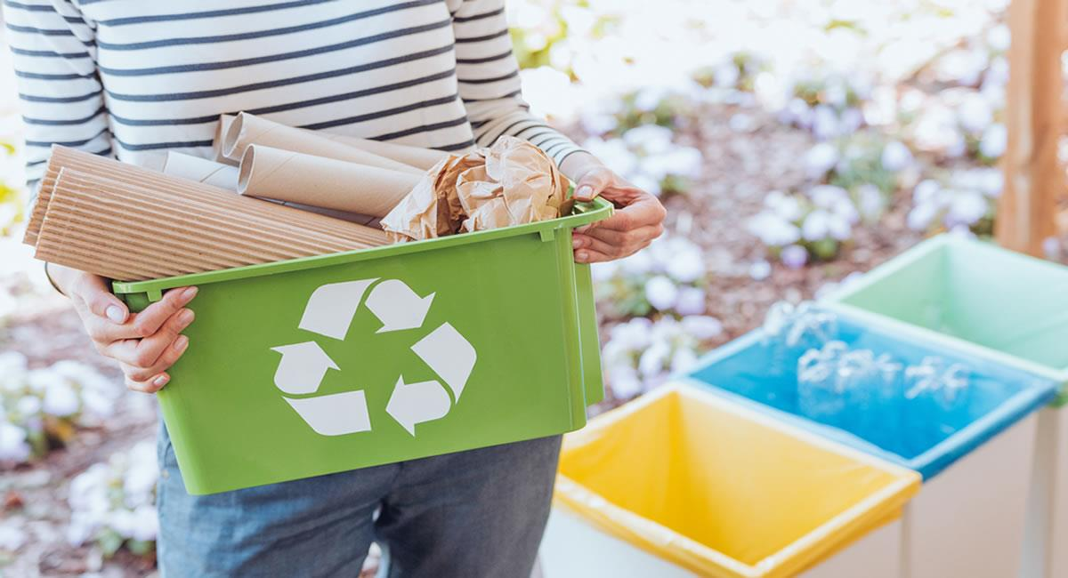 Recupera, reutilizar y reciclar productos secundarios y otros materiales excedentes. Foto: Shutterstock