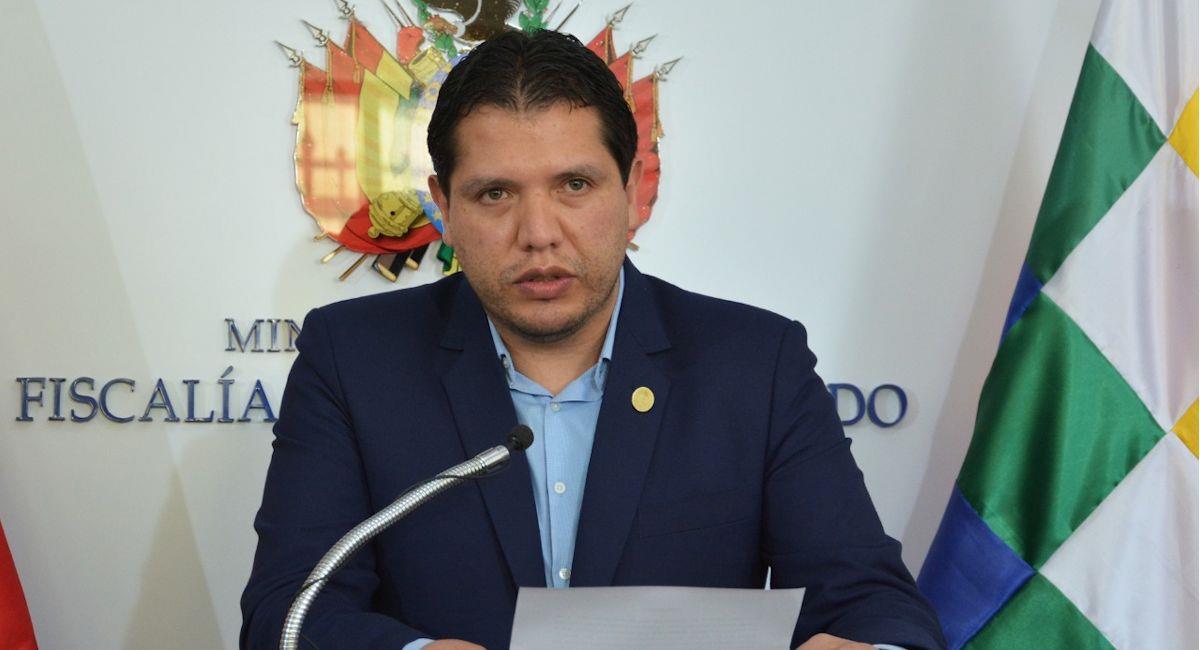 El director de Gestión Fiscal, Supervisión y Evaluación, Roberto Almendras. Foto: ABI