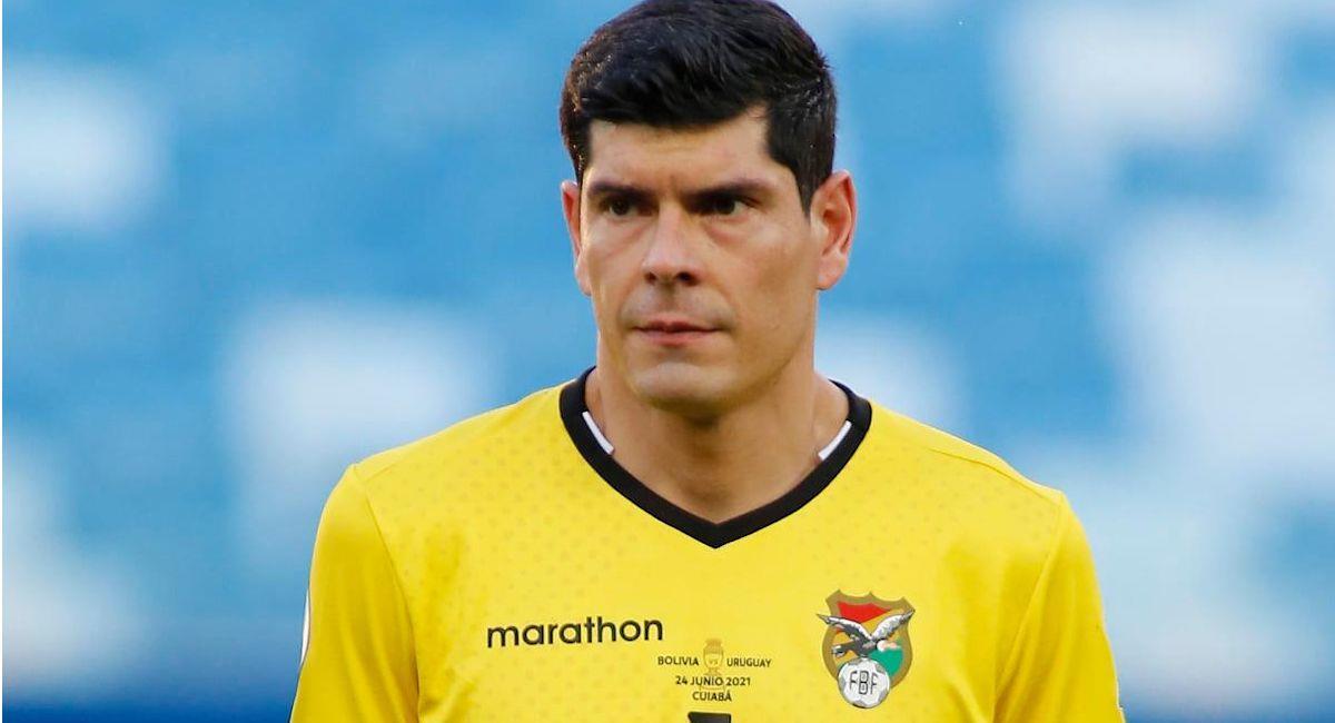 El portero boliviano Carlos Lampe. Foto: Facebook Carlos Emilio Lampe