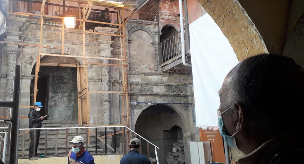 Se prevé la construcción de un bloque de unos cuatro pisos para la parte administrativa. Foto: ABI
