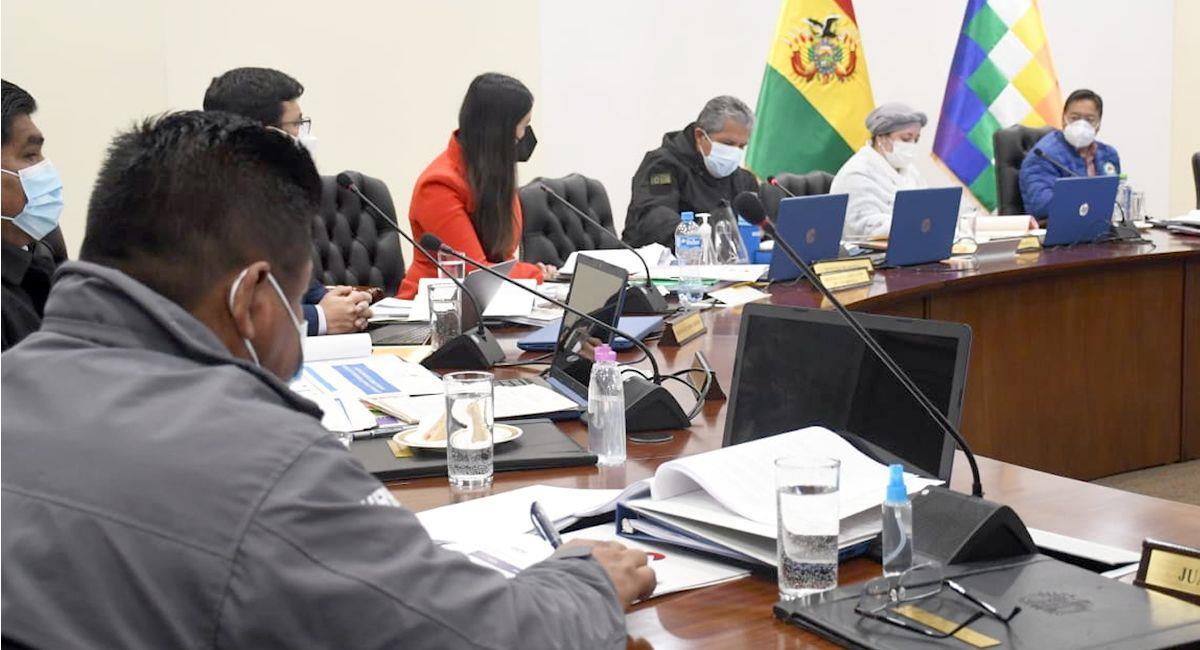 El gabinete de ministros aprobó el Decreto Supremo que declara prioridad nacional al Censo. Foto: ABI