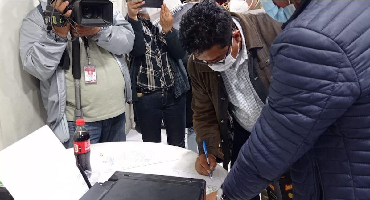 Gobierno y productores de Parotani llegaron a un acuerdo. Foto: ABI