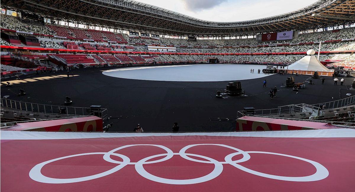 El Estadio Olímpico sin público. Foto: EFE