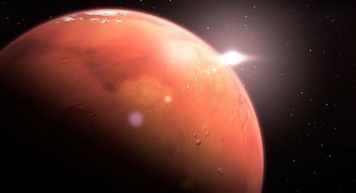 Movimientos sísmicos revelaron la estructura interna del Planeta Rojo