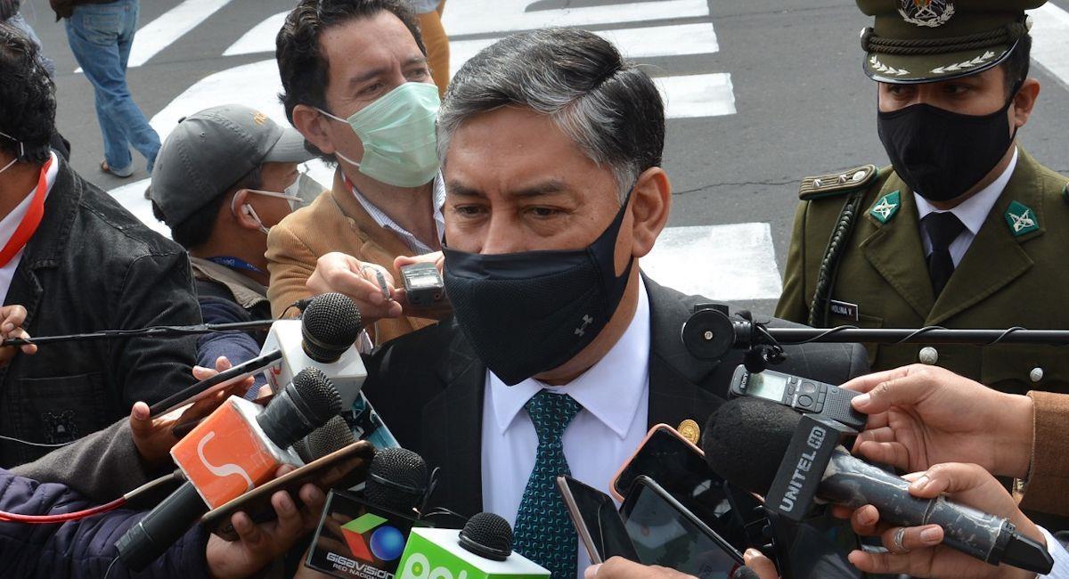 El fiscal general del Estado, Juan Lanchipa. Foto: ABI