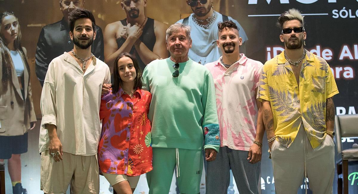 """Los Montaner ofrecerán el próximo sábado un concierto vía """"streaming"""". Foto: EFE"""