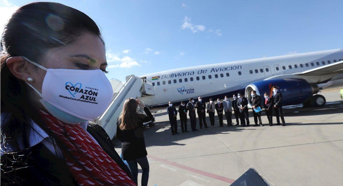 """BoA se une a campaña """"Corazón Azul"""". Foto: EFE"""