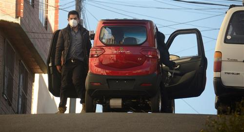 Auto eléctrico boliviano de Quantum estará en feria de Dubái