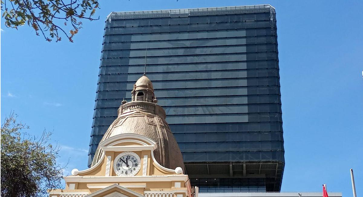 Nuevo edificio de la Asamblea Legislativa Plurinacional. Foto: ABI