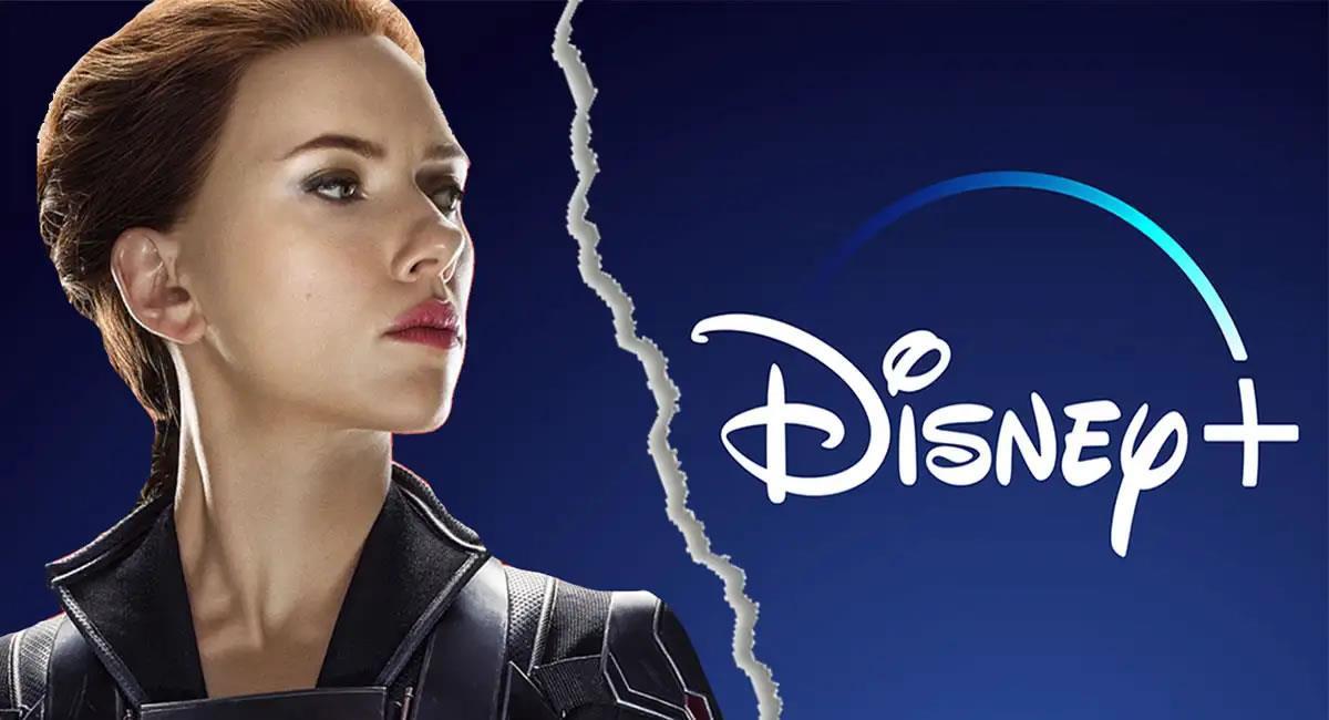 """Todo inició con la demanda de Scarlett Johansson a Disney por el estreno en """"streaming"""" de 'Black Widow'. Foto: Twitter @MarvelLatin"""