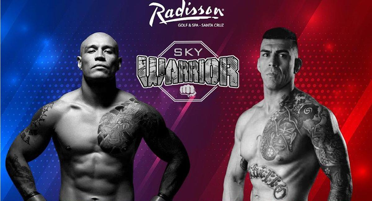 Organizan primera versión del evento de MMA Sky Warrior. Foto: Facebook Sky Warrior Bolivia