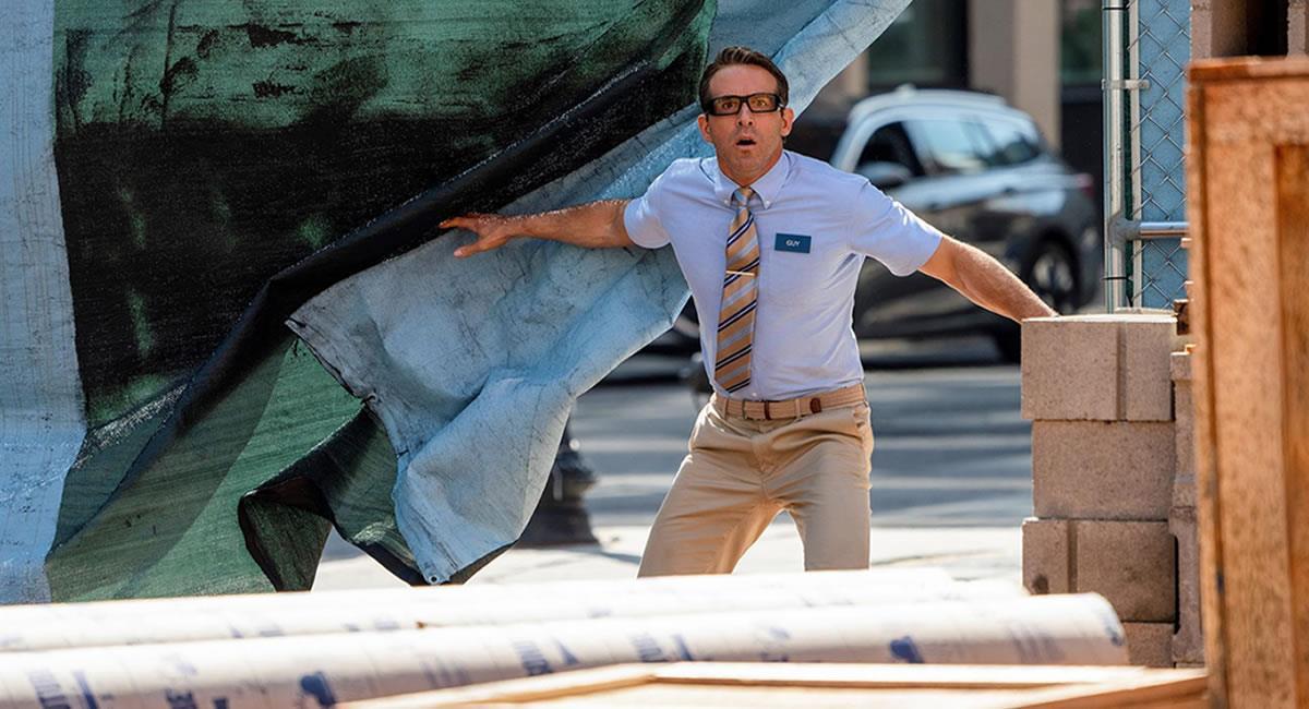 Ryan Reynolds como Guy en 'Free Guy'. Foto: EFE
