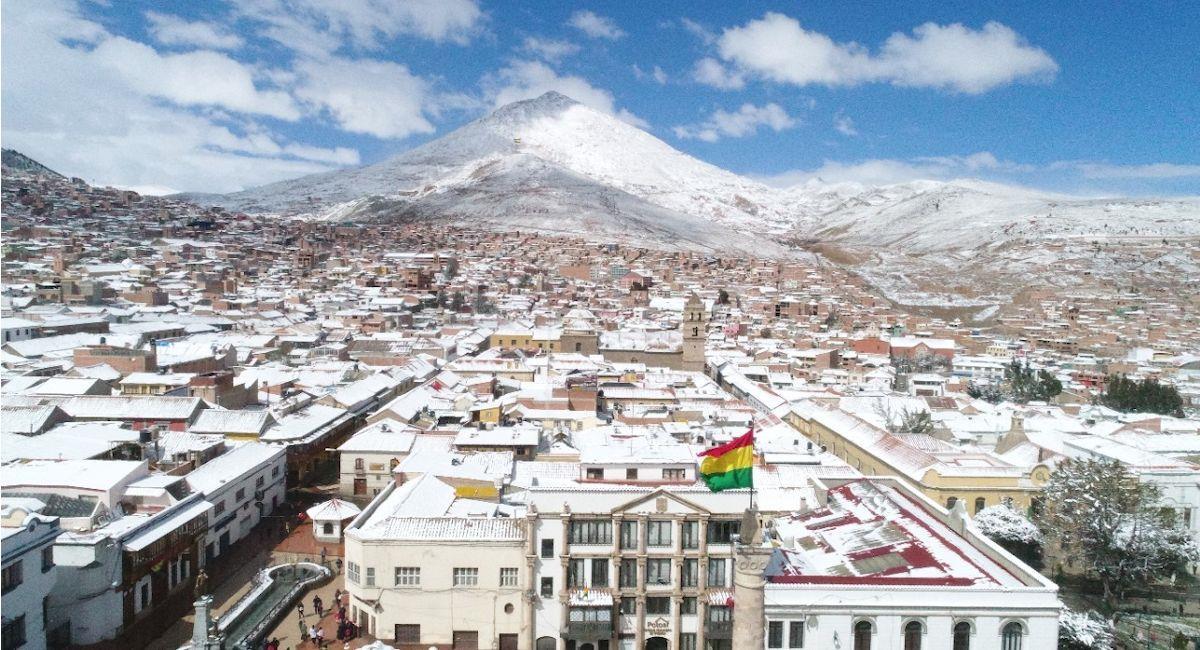 Ciudad de Potosí. Foto: ABI