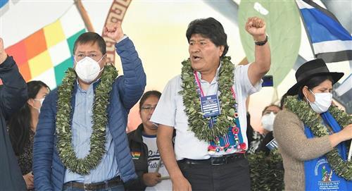 """El MAS dicta """"duras sanciones"""" a quienes estén con la derecha"""