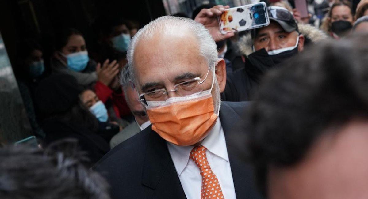 El expesidente y líder opositor, Carlos Mesa. Foto: ABI