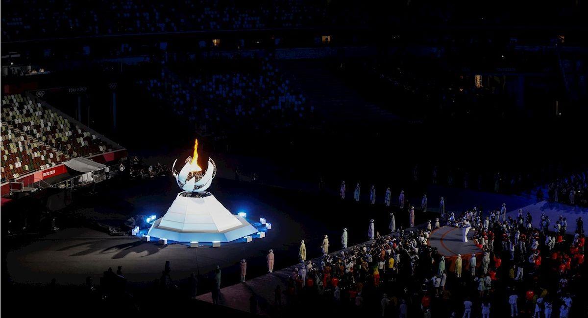 Ceremonia de clausura de los Juegos Olímpicos Tokio 2020. Foto: EFE