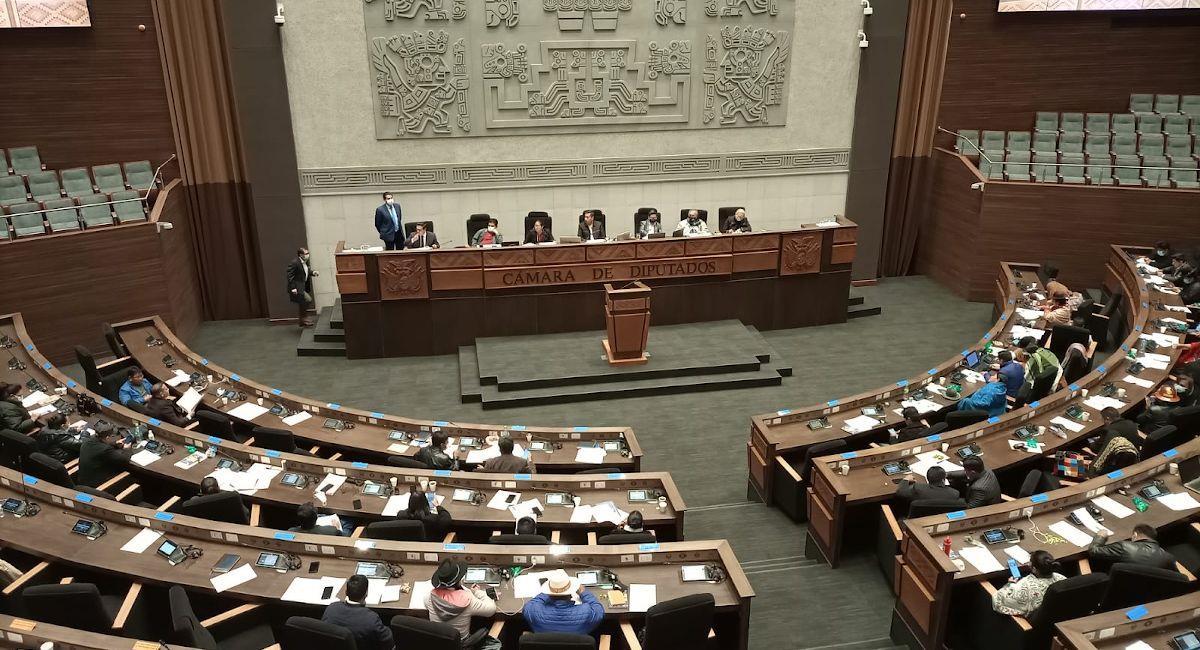 La Cámara de Diputados. Foto: ABI