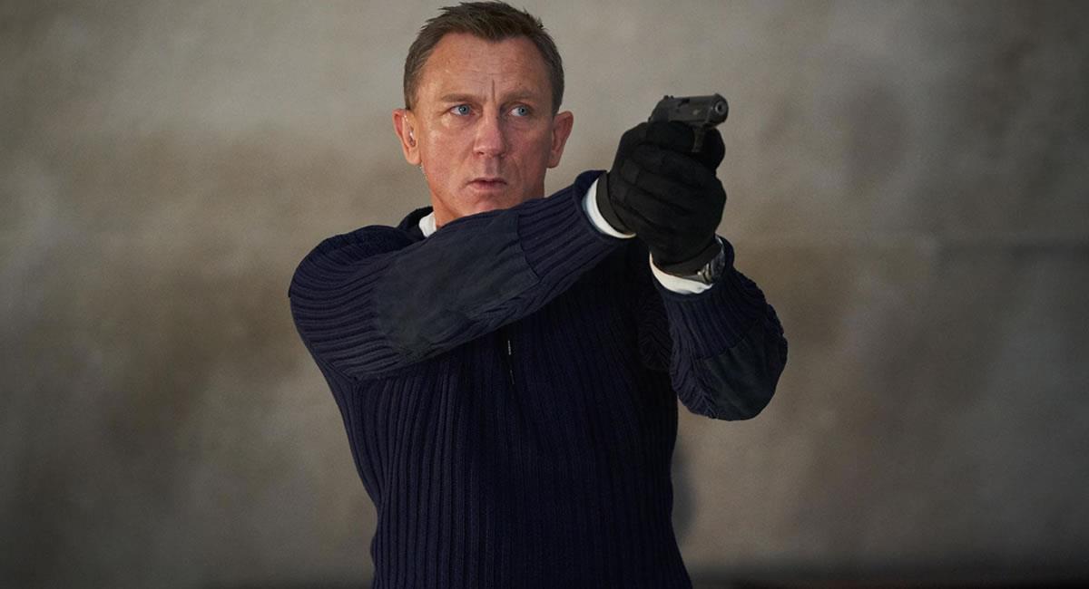 Actor británico Daniel Craig en el papel de James Bond. Foto: EFE