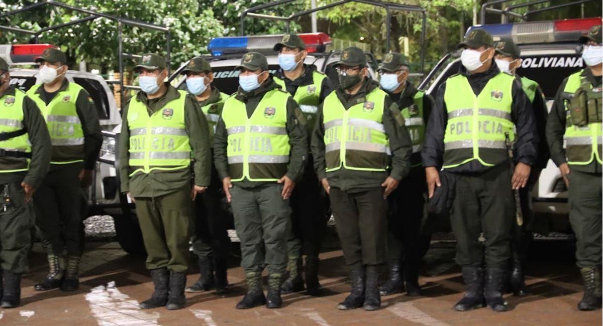 """Plan """"Recuperando Patria"""" desplegará más de 12.000 policías. Foto: ABI"""