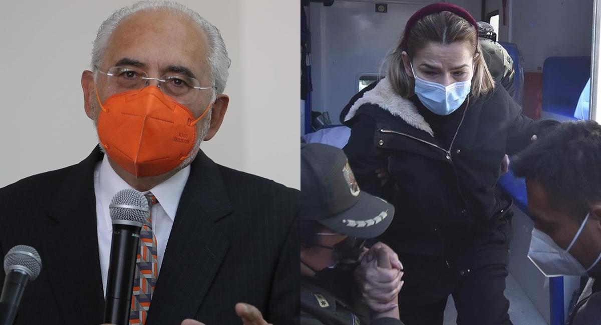 Mesa y Áñez se encuentran enfrentando procesos legales. Foto: EFE