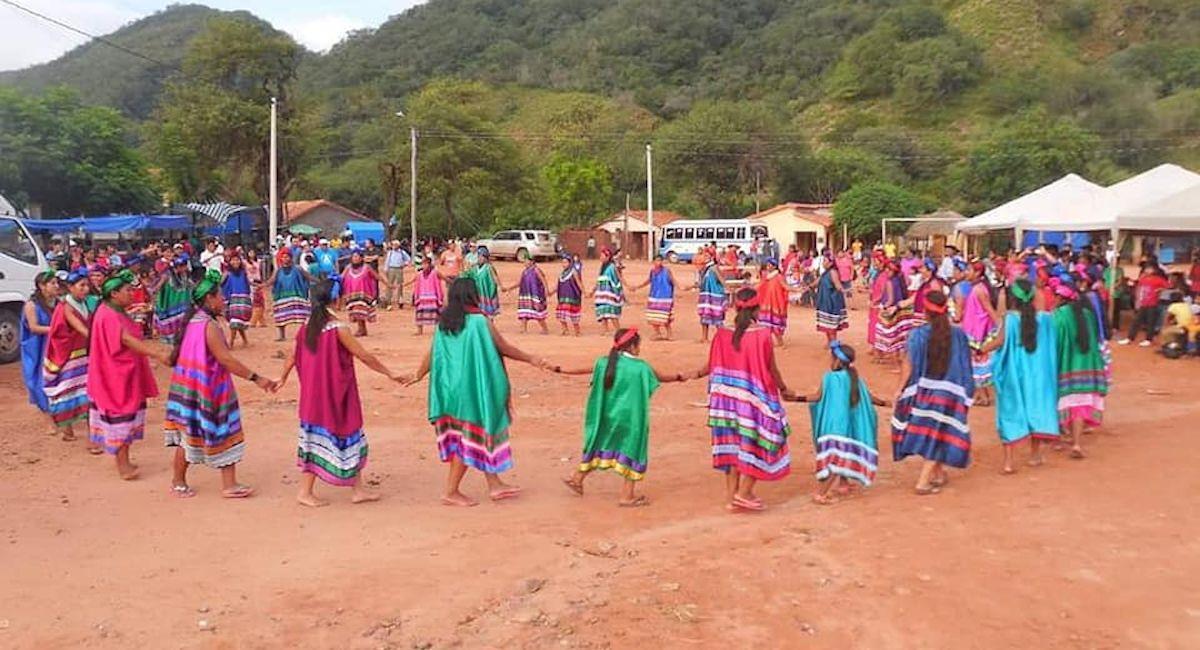 Comunidad Kumandaroty vacunó al 100% de su población mayor de 18 años. Foto: ABI