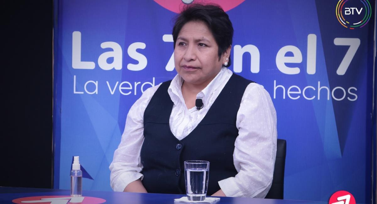 Dina Chuquimia, vocal del Tribunal Supremo Electoral. Foto: ABI