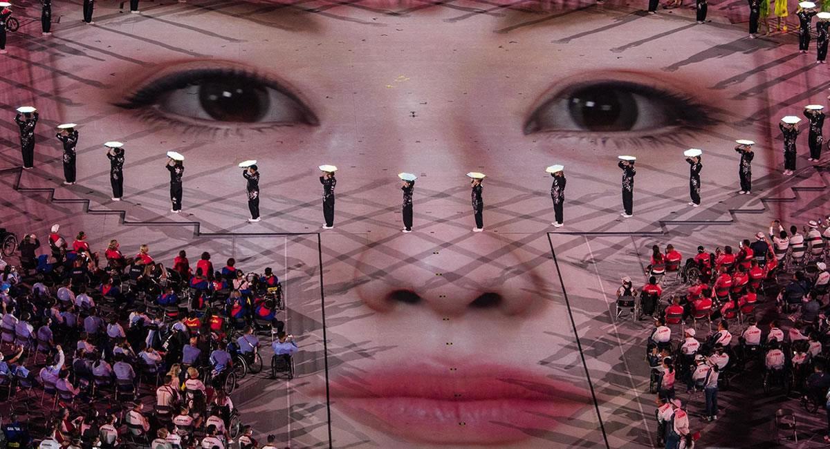 Clausura de los Juegos Paralímpicos. Foto: EFE