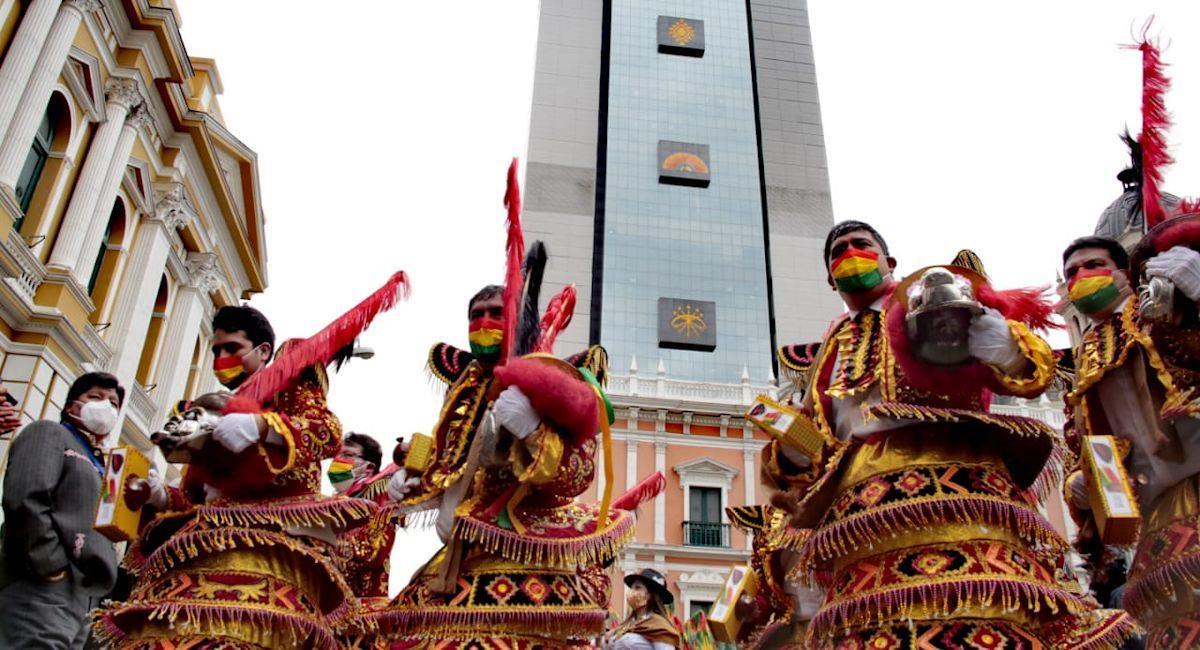 Bolivia conmemoró el Día de la Morenada. Foto: ABI