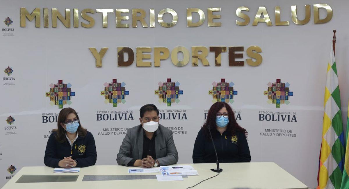 El Ministerio de Salud informó que tres variantes de la COVID-19 circulan en Bolivia. Foto: ABI