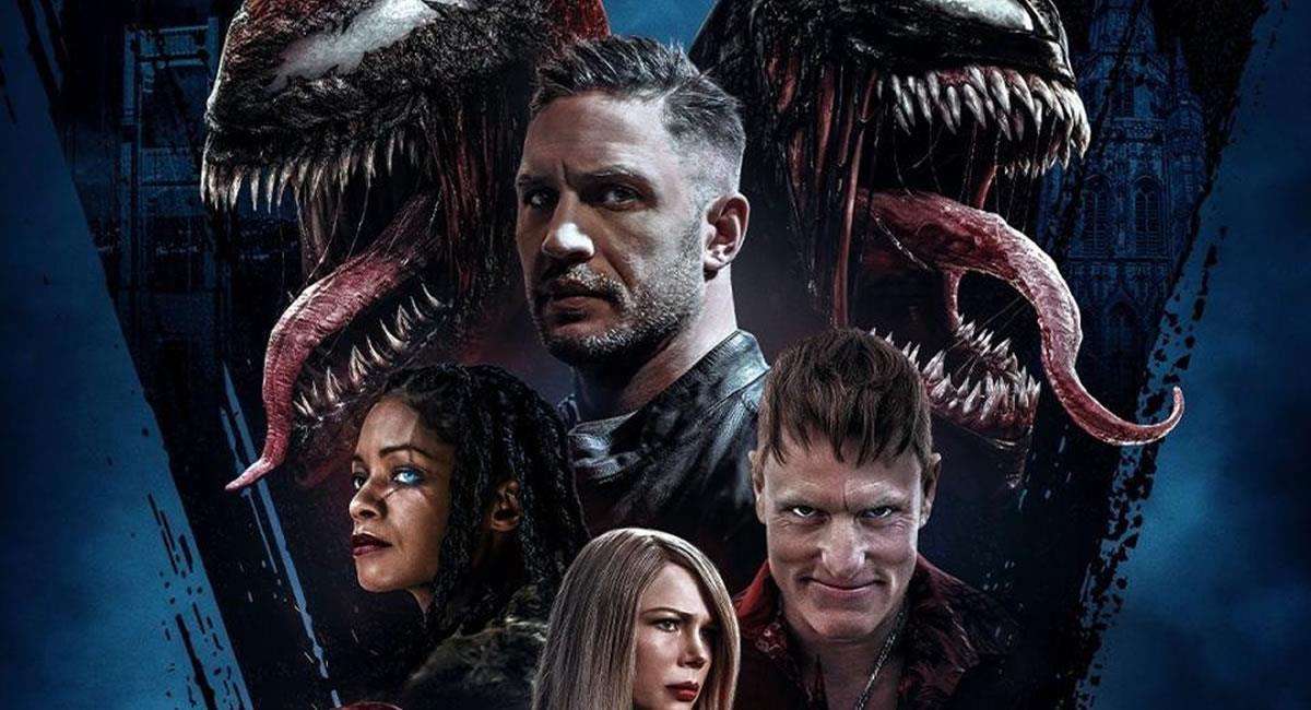 Tom Hardyvuelve a interpretar a Venom en esta película que dirigió el actorAndy Serkis. Foto: Filmaffinity