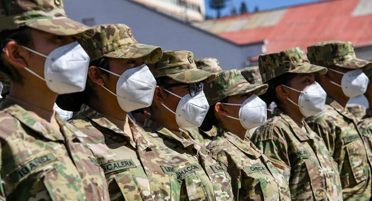 Fuerzas Armadas de Bolivia (foto archivo). Foto: ABI