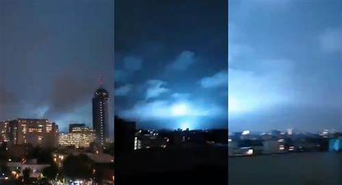 ¿Por qué se vieron luces azules en el cielo tras el sismo en México?