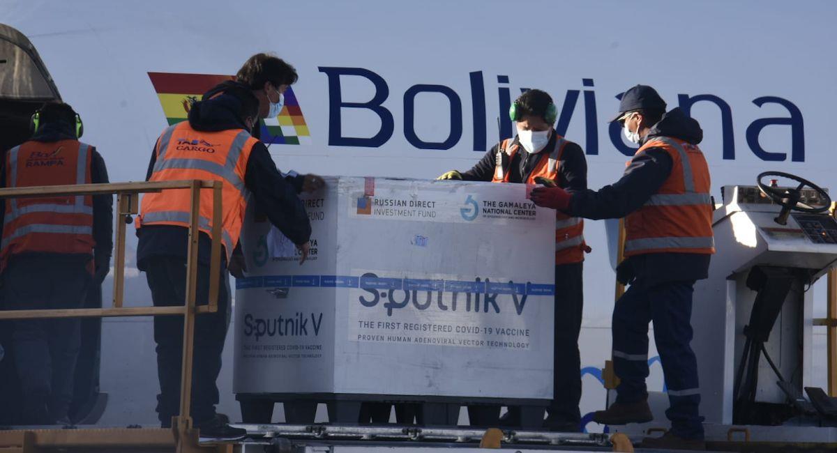 La siguiente semana arribará un lote de segundas dosis de Sputnik V. Foto: ABI