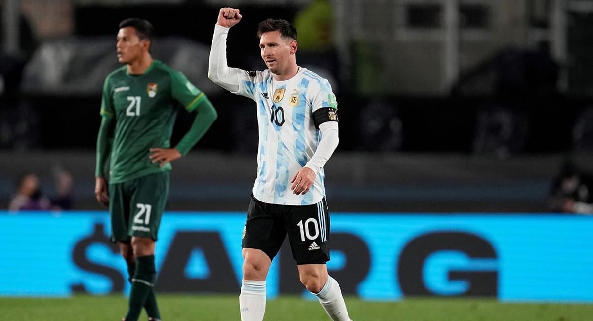 Ambos goles fueron hechos por Lionel Messi. Foto: EFE